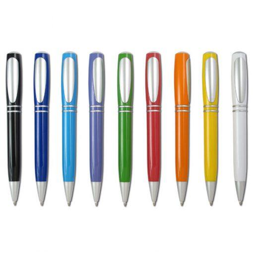 עט כדורי קליפי פלסטי