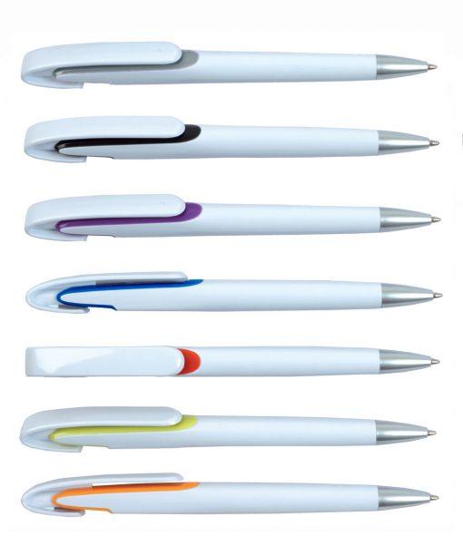 עט כדורי ג'וקר לבן