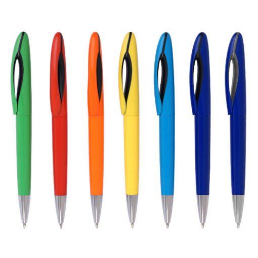 עט כדורי פיש לבן