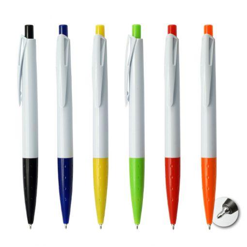 עט חוד מחט ספייס לבן