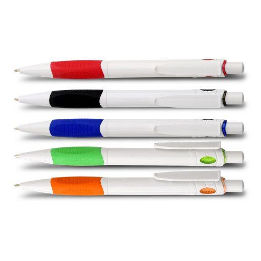 עט כדורי מנטה לבן