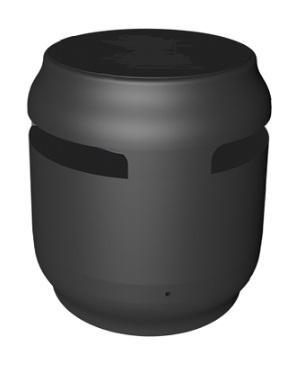 רמקול בלוטוס שחור+מטען אלחוטי