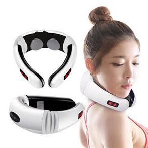 מכשיר עיסוי פולסים לצוואר