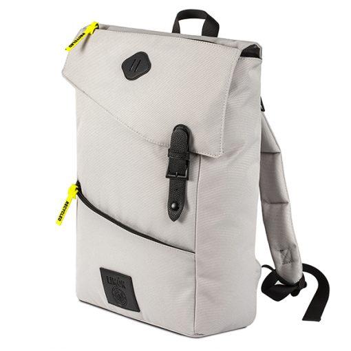 """תיק גב Limon דגם """"טאקי"""" TAKHI תיק גב למחשב נייד עד 15"""" לבן"""